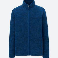 フリースフルジップジャケット(長袖・杢)