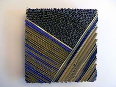 Ritsuko Ogura - Section_blue brooch - CODA Museum collection