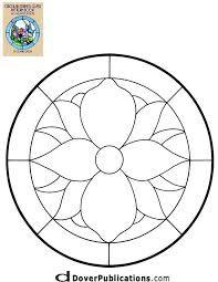 Resultado de imagen para stained glass pattern circle