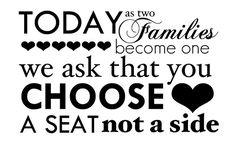 Cérémonie de mariage : Doit-on placer les invités ?