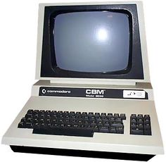 Commodore CBM 80xx. The main improvement over the other PET / CBM computers is the 80-column display. The screen is 12'' large and the ROM version is 4.0.