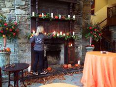 #OBEdreamteam autumnal setting design #weddings