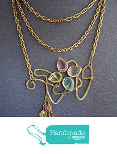 pastel stone wire wrapped statement necklace https://www.amazon.com/dp/B01M5FQTZ6/ref=hnd_sw_r_pi_dp_DH1dyb4AP64PJ #handmadeatamazon