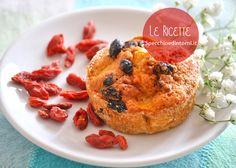 #Muffin vegani con bacche di #Goji (ricetta facile)