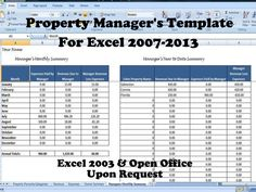 37 Best Rental Property Management Templates Images In 2019
