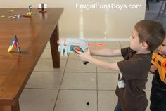 Lego Building Challenge:  Nerf Targets