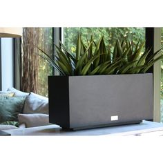 Metallic Series Long Galvanized Steel Planter Box
