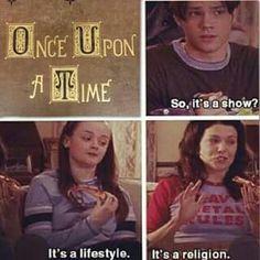 OUAT x Gilmore Girls
