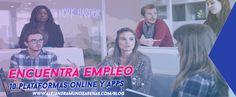 Las 10 mejores apps para encontrar trabajo. Te comparto opciones que te ayudaran a conseguir tu empleo ideal, en latino américa o a nivel internacional.