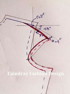 Best 12 How to make off-shoulder bodice patterns Sewing Lessons, Sewing Hacks, Sewing Tutorials, Techniques Couture, Sewing Techniques, Dress Sewing Patterns, Blouse Patterns, Pattern Cutting, Pattern Making