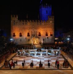 Italy - Marostica, Province of Vicenza Human chess game, totally amazing. Only 2 performances, 1 weekend in September, even numbered years only.