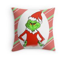 The Grinch Stole Christmas Throw Pillow