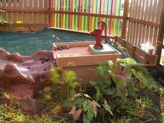 water playground equipment natural - Google Search