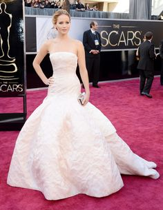 Jennifer Lawrence in Christian Dior Couture - Oscars 2013