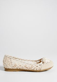 lady crocheted comfort ballet flat   maurices