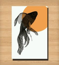 Fish Print by Morgan Kendall Art on Scoutmob Shoppe