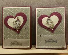 Corina´s Stempel- und Bastelwerkstatt: Geburtstagskarte Little Cuties