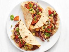 Chipotle chicken enchiladas recipe chipotle chicken enchiladas root vegetable tacos with pineapple salsa get rootpineapple salsa recipesfood network forumfinder Image collections