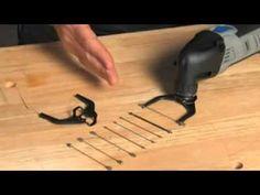 Dremel MultiFlex cutting accessory for the Multi-Max oscillating multitool