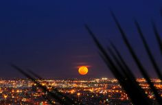6) El Paso, TX - Not big on border towns and I found it dirty when I was there last - but this view is amazing.