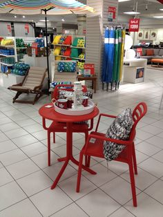 Lovely Add A Pop Of Colour To Your Patio With This Cute Red Bistro Set! As Seen At Hudsonu0027s  Bay Part 15