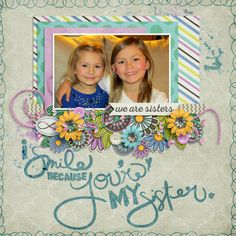 Kit: Sista by Laura Banasiak, Scrap Orchard Template: Imperial Palace 2 by FDD, Scrap Orchard