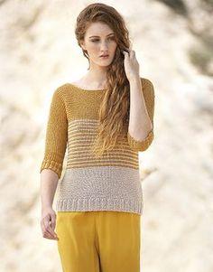 Revista mujer Concept 3 Primavera / Verano | 31: Mujer Jersey | Ocre / Beige