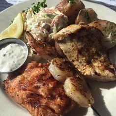 Fresh fish at #Pier39  #sanfran #California #fish #chefsabs #seafood #food #Foodie #foodblog #foodblogger #californiablogger