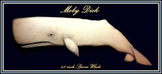 SPERM WHALE wood carving nautical art wood whale by WOODNARTS, $275.00