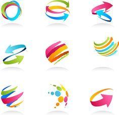 Free - Logo of Arrows design vector 01