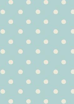 Spot Pale Blue | Cath Kidston classic polkadot print design | Spring / Summer 2013
