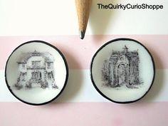 Dollhouse Miniature set of Cottage Plates 1:12 Scale