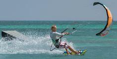 Aruba Kitesurfing - Kite Surfing Photographs by Tony Filson of Filcro Media New York, NY