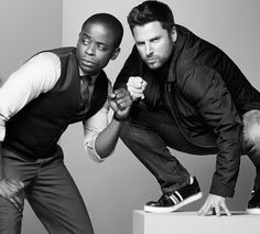 How can you not love these 2? Shawn and Gus from Psych.