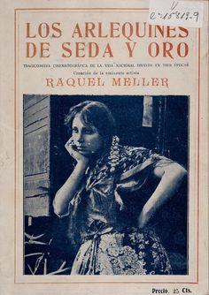 """""""Los Arlequines de Seda y Oro"""" (1919) Realización: Ricardo de Baños"""