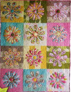 Fat N Fabulous - Quick & easy pieced and applique quilt PATTERN- Miss M