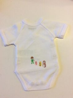 Onesie baby illustration  Quiet Time  #onesie #baby #cute #body #bebe #mode #vêtement #playmobil