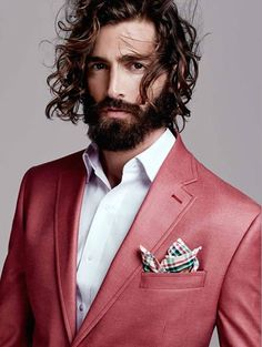Maximiliano Patane Models Sharp Designer Suits for El Palacio de Hierro Fashion Moda, Mens Fashion, Daily Fashion, Suits And Sneakers, Classic Men, Beard Lover, Costume, Well Dressed Men, Stylish Men