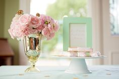 Pink, Mint & Gold Wedding Inspiration