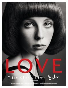 Edie Campbell joins Cara Delevingne for this exceptional Love session by Solve Sundsbo. Love Magazine, Fashion Magazine Cover, Magazine Covers, Eddie Campbell, Fashion Tape, Page Boy, Cover Model, Studio Shoot, Cover Pics