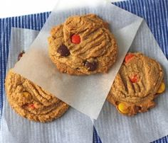 Peanut Butter Cookies with Reese's Pieces http://www.sugarshack.co.uk/blog/?p=2619