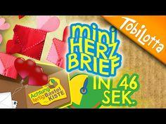 Valentinstag Umschlag Origami -Kuvert basteln Briefumschlag basteln Valentinstag diy - YouTube