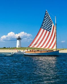 private sailing off Edgartown American Spirit, American Pride, American Flag, I Love America, God Bless America, Sea To Shining Sea, Home Of The Brave, Land Of The Free, Usa Tumblr