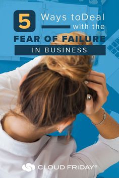 Is your business held back by the fear of failure!? Today, we're sharing 5 ways to overcome the fear of failure as a small business owner. Overcoming the fear of failure is KEY for a strong small business mindset! Mindset for entrepreneurs is essential, and a mindset for success will set you apart from other small business owners. #fearoffailure #smallbusinesstips #businessownertips