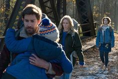 The Inventive Thriller A Quiet Place Can Only Be Fully Experienced in the Theater  ||  John Krasinski's suspenseful invasion flick—in which the aliens attack anything that makes a sound—rewards those who sit in silence. https://slate.com/culture/2018/04/a-quiet-place-john-krasinskis-new-horror-movie-reviewed.html