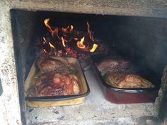 schweinebraten im holzbackofen, Beef, Cooking, Outdoor, Food, Pork Roast, Kochen, Meat, Kitchen, Outdoors