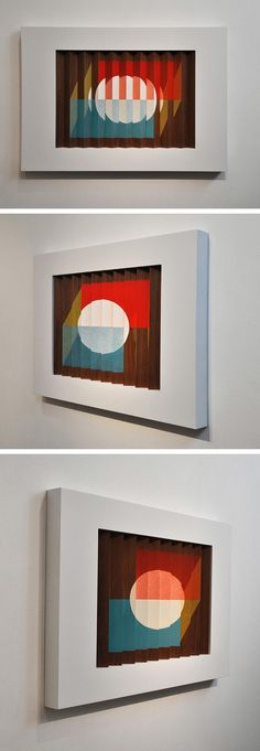 Lenticular Compositions by Christopher Derek Bruno... and we all thought da Vinci and all them were strange and new!
