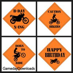 ideas for dirt bike birthday party food Motorcycle Birthday Parties, 3rd Birthday Party For Boy, Dirt Bike Party, Dirt Bike Birthday, Motorcycle Party, Diy Birthday, Birthday Party Themes, Birthday Ideas, Motocross Birthday Party