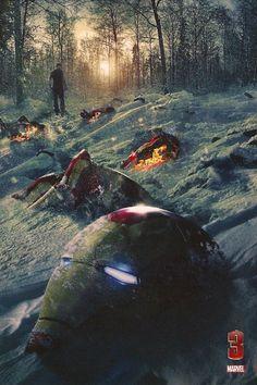 """""""Iron Man 3"""" art (Marvel)"""