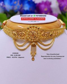 Gold Necklace Simple, Gold Jewelry Simple, Golden Jewelry, Gold Necklaces, Gold Bangles Design, Gold Earrings Designs, Gold Jewellery Design, Silver Bridal Jewellery, Jhumar